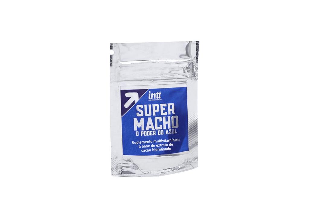 Super Macho Suplemento Potencializador Multivitamínico Masculino 02 Cápsulas Intt