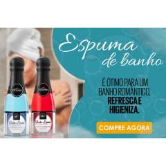 Banho e Espuma Sabonete Liquido 150ml Hot Flowers