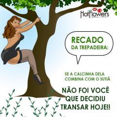 TREPADEIRA EXCITANTE FEMININO 15G HOT FLOWERS