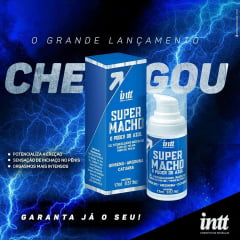 SUPER MACHO O PODER DO AZUL GEL POTENCIALIZADOR MASCULINO 17 ML INTT