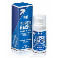 SUPER MACHO O PODER DO AZUL GEL POTENCIALIZADOR MASCULINO 17 ML INTT