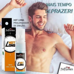 Hot Long Spray - Prolongador de Ereção