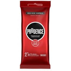Preservativo Prudence Clássico Com 12 Unidades