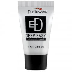 GEL DEEP EASY ANAL FACILITADOR E DESSENSIBILIZANTE HOT FLOWERS